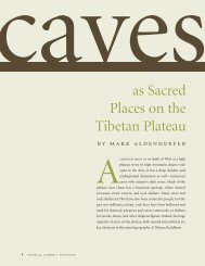 as Sacred Places on the Tibetan Plateau - University of ...