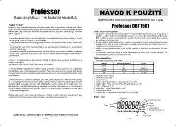 Professor - EVA.cz