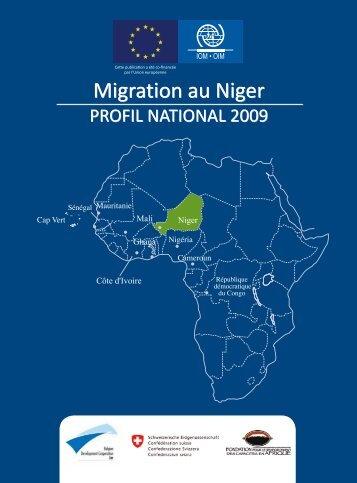 Migration au Niger Migration au Niger - IOM Publications