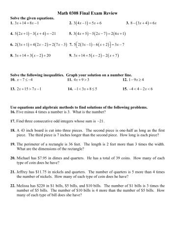 final exam review problems 1 Final exam_review problems for calculus 1 - download as pdf file (pdf), text file (txt) or read online.