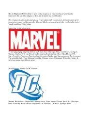 Amerikanske tegneserier på Blågårdens Bibliotek