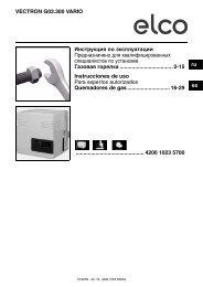 VECTRON G03.300 VARIO Инструкция по эксплуатации ...