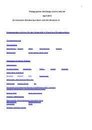 Pädagogische Streifzüge durchs Internet - April 2013 PDF Dokument