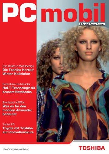 Die Toshiba Herbst/ Winter-Kollektion HALT-Technologie für ...
