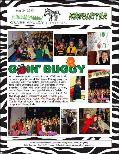 Grass Valley News-May 24, 2013 - Camas School District