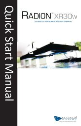 Quick Start Manual RADIoN XR30w - EcoTech Marine