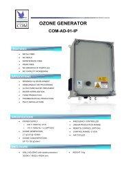 Anseros Ozone Generator COM-AD-01-IP