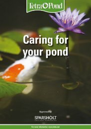 Caring for your pond - Tetra