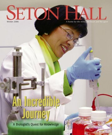 2006 winter magazine - Seton Hall University