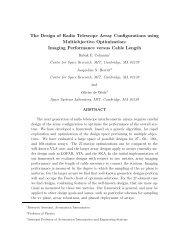 The Design of Radio Telescope Array Configurations using ...