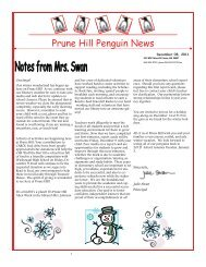 Penguin News December 8, 2011 - Camas School District