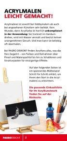 AcrylmAlerei leicht gemAcht! - Pagro - Seite 2