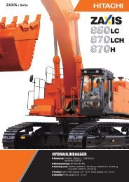 PDF (5,20 MB) - Hitachi Construction Machinery Europe