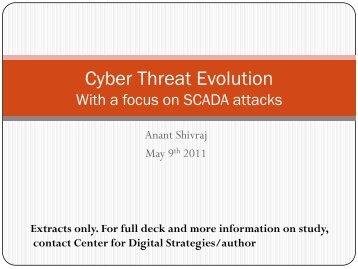 Cyber Attacks - Center for Digital Strategies