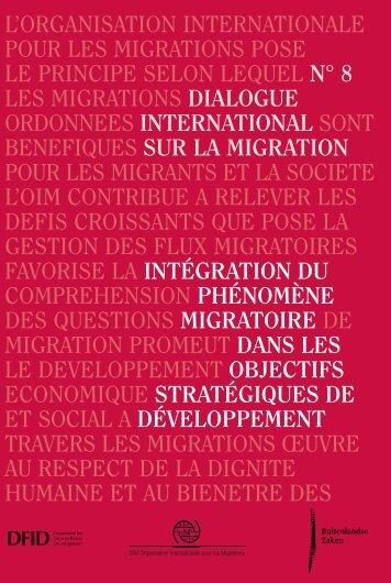 développement - IOM Publications