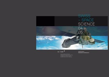 SWISS SPACE RESEARCH COMMISSION - Swiss Committee on ...