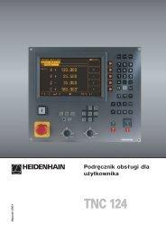 TNC 124 - heidenhain - DR. JOHANNES HEIDENHAIN GmbH