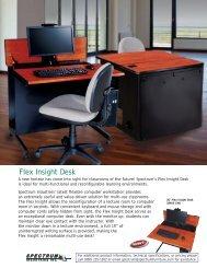 Market Sheet: Flex Insight Desk - Spectrum Industries, Inc.