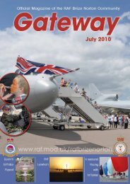 July 2010 - Royal Air Force