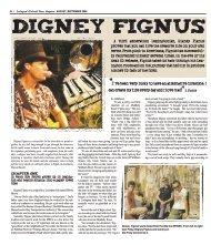 Lexington Musician Digney Fignus - Colonial Times Magazine