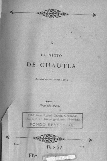 El sitio de Cuautla