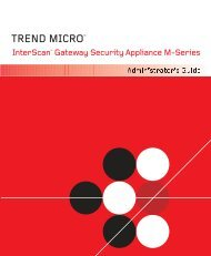 Administrator's Guide - Online Help Home - Trend Micro