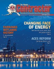 The Alaska Contractor - Spring 2011 - Keep Trees