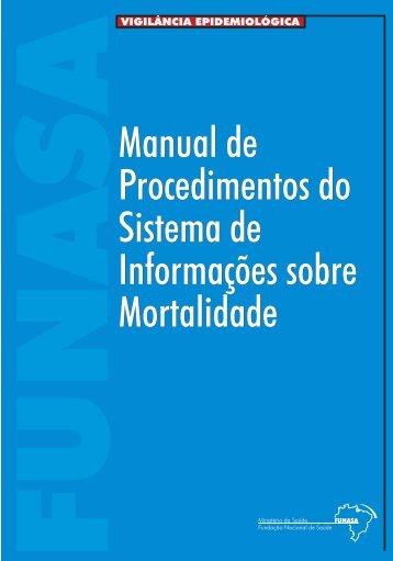 Manual de Procedimentos do Sistema de Informações Sobre ...
