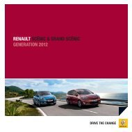 renault scénic & grand scénic generation 2012 - RENAULT Griesel