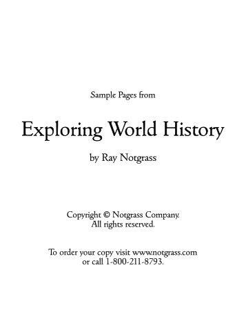 Exploring World History - Mardel