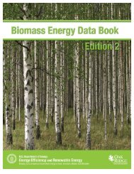Biomass Energy Data Book - Center for Transportation Analysis ...