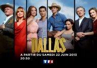 A PARTIR DU SAMEDI 22 JUIN 2013 20:50 - TF1