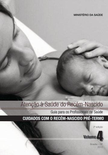 Atenção à saúde do recém-nascido - BVS Ministério da Saúde