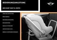 MINI Baby Seat - MotoringFile