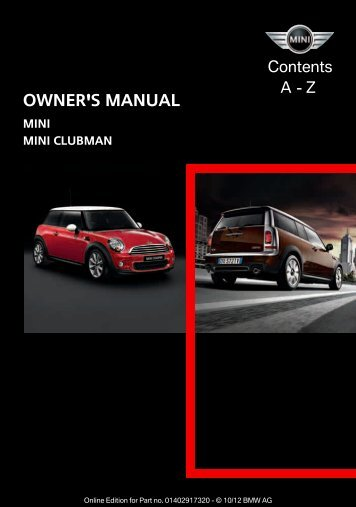 2013 Hardtop / Clubman - Library of Motoring