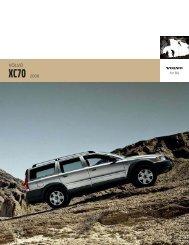 2006 Volvo XC70 Brochure