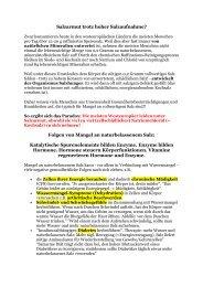 Enzymmangel und Hormonstörungen durch ... - Peter-weck.de