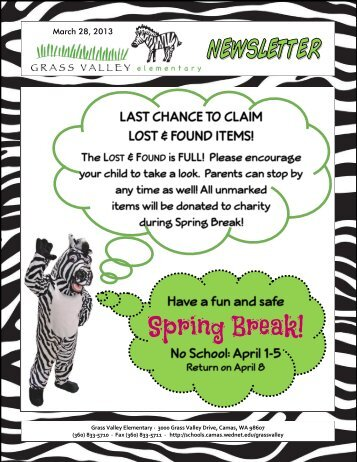 Grass Valley News-March 28, 2013 - Camas School District