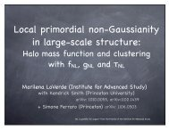 Local primordial non-Gaussianity in large-scale structure:
