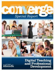 Converge Special Report - Center for Digital Education