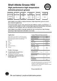 Shell Albida Grease HD2 - Parsian Super Lubricants