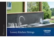 Grohe.com Luxury Kitchen Fittings