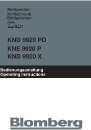 KND 9920 PD KNE 9920 P KND 9920 X - Blomberg