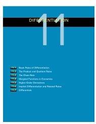 11DIFFERENTIATION - Department of Mathematics
