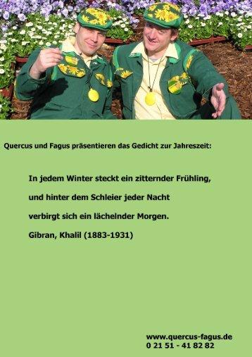Quercus & Fagus - Gruene-branche.com