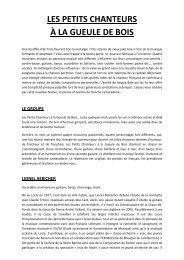 Dossier de presse, PDF, 50.7 Ko - Le Royal