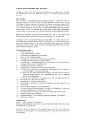 Utskriftsversion av dagordning (pdf) - Duni