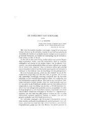 DE TOEKOMST VAN SURINAME - Books and Journals