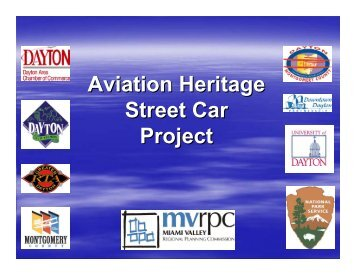 Aviation Heritage Street Car Project