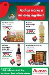 Auchan márka a minőség jegyében!